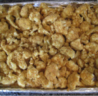 Crunchy Breaded Cauliflower