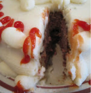 Grilled Hamburger Cake – Really!