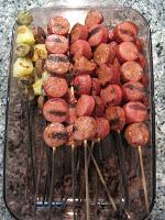 Hot Dog Kabobs