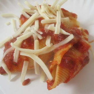 Double Cheese Stuffed Shells