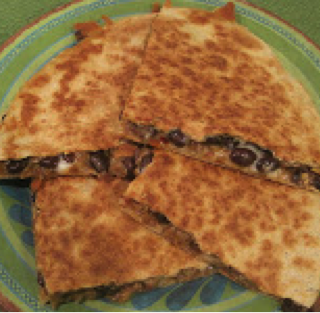 """Chill""-i and Black Bean Quesadillas"
