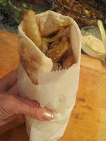 Shwarma – A Taste of Israel! Plus bonus: a review of Fresh & Easy by Leah Schapira with her Pita & Falafel recipes!!!