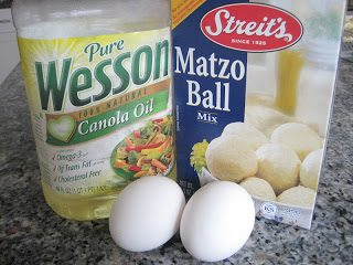 Sharon Matten's Famous Matzoh Ball Recipe