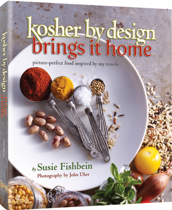 "GIVEAWAY & A review of Susie Fishbein's ""Kosher By Design Brings it Home"""