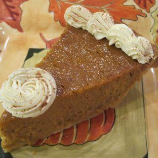 Thanksgiving & Easy Shmeasy Pumpkin Pie