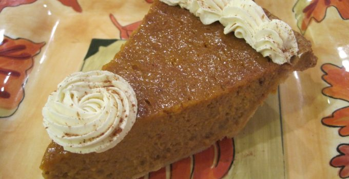 Thanksgiving & Easy Shmeasy Pumpkin Pie