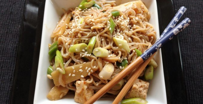 Easy Vegetable  and Rice Ramen Stir Fry (GFE) – And the road to recovery