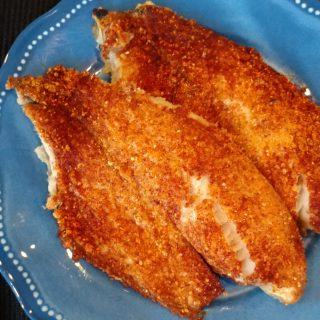 Parmesan Crusted Tilapia & Shavuot Fish Recipe Roundup