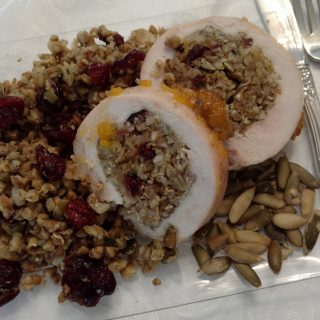 Kosher Everyday Rosh Hashanah 2017 Menu & Turkey Breast Stuffed with Buckwheat, Pumpkin Seeds and Dried Cranberries