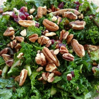 Thanksgiving Leftovers & Kale Salad and being a Shlemazel