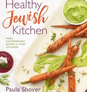 """The Healthy Jewish Kitchen"" A review of Paula Shoyer's new book & Potato and Scallion Latkes with Pickled Apple Sauce"