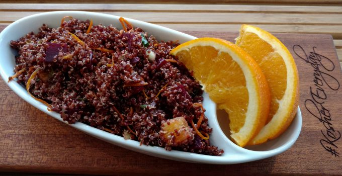 Citrus and Beet Red Quinoa & Produce Boxes