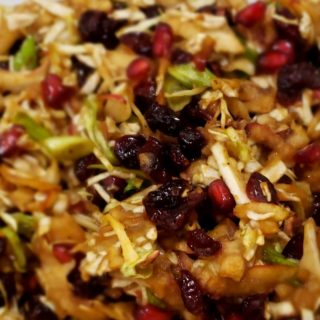 Pomegranate and Apple Rosh Hashanah  Salads