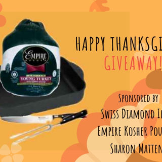 "The ""Everything You Need To Make Thanksgiving Turkey"" Giveaway"