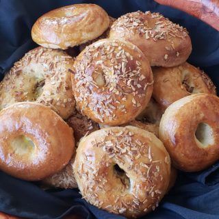 I Can't Believe They're Passover Bagels!