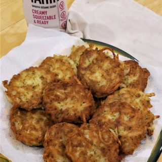 Hash Brown Potato Falafelkes