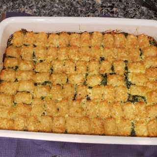 The Tater Tot Casserole Experience – Perfect for Chanukah