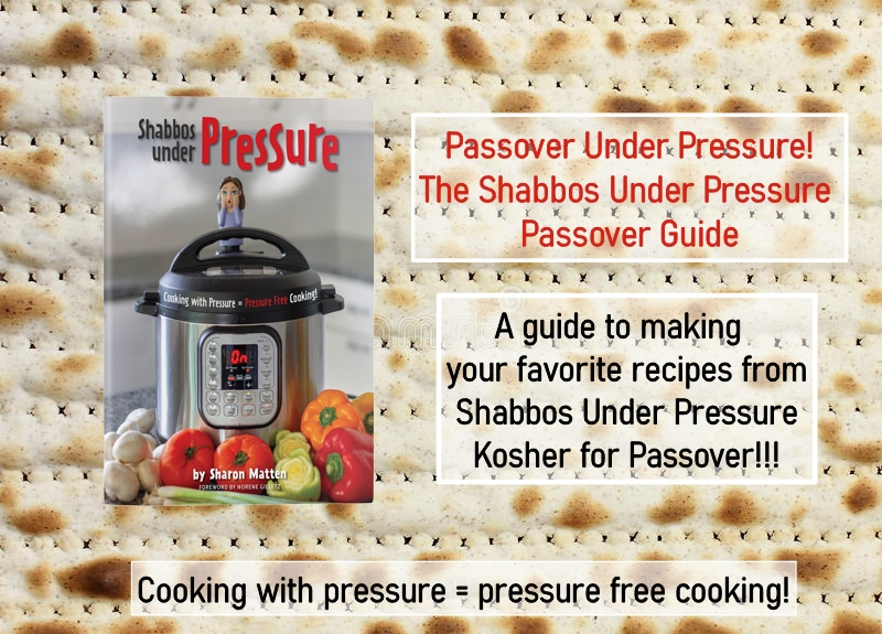 Click here to get the Shabbos Under Pressure Passover Guide!