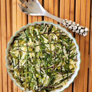 Asparagus Basketweave Quiche