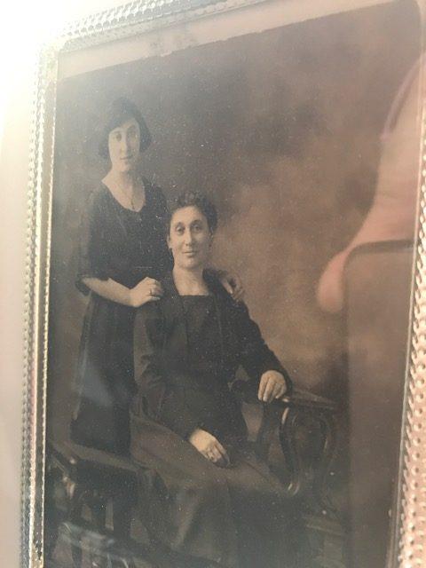 Photo of my great grandmother Jenny.