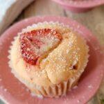 Fresh Strawberry Lemonade Muffins