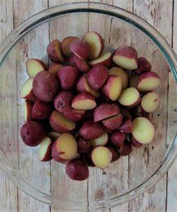 Halved New Potatoes