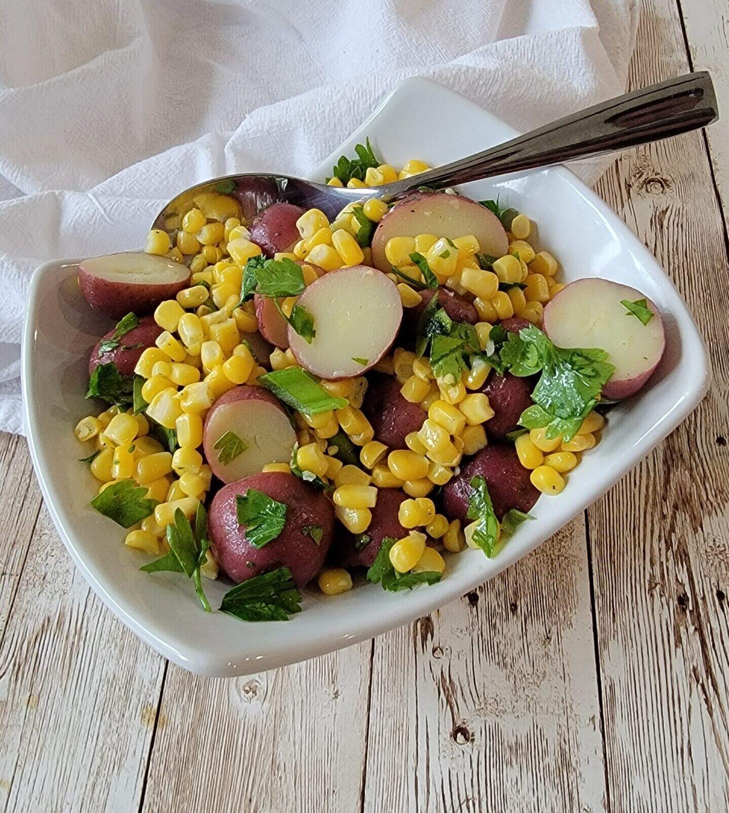 Photo of Light Lemony Potato Salad