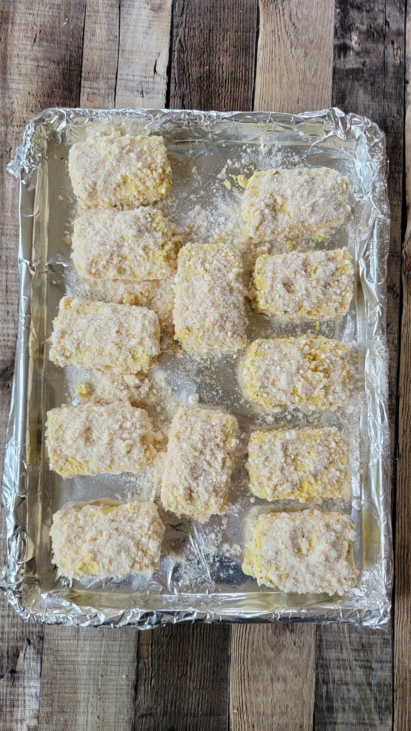 Breaded Tofu Parmesan