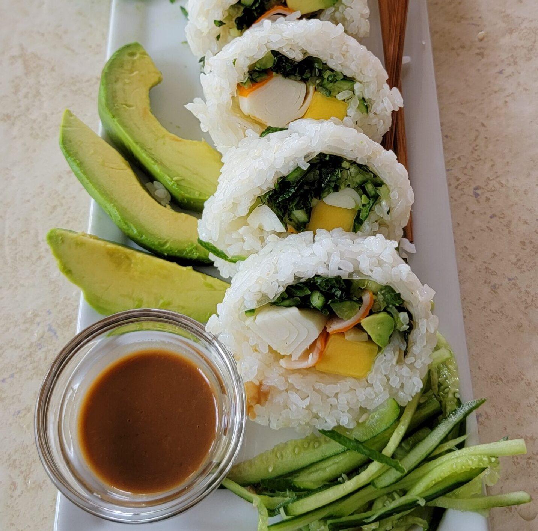 Lucy's Sushi closeup