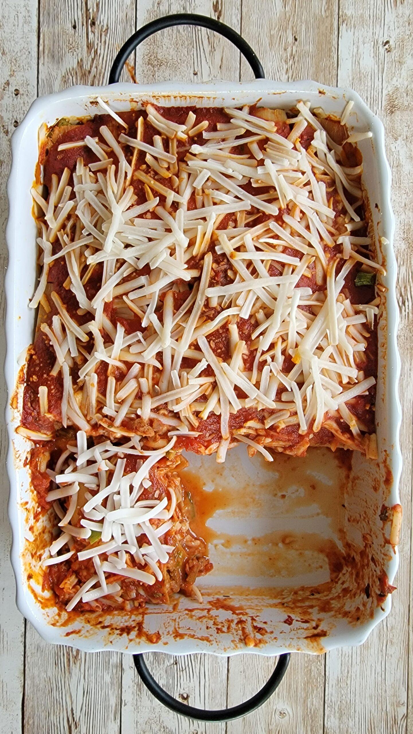 Hearts of Palm Lasagna
