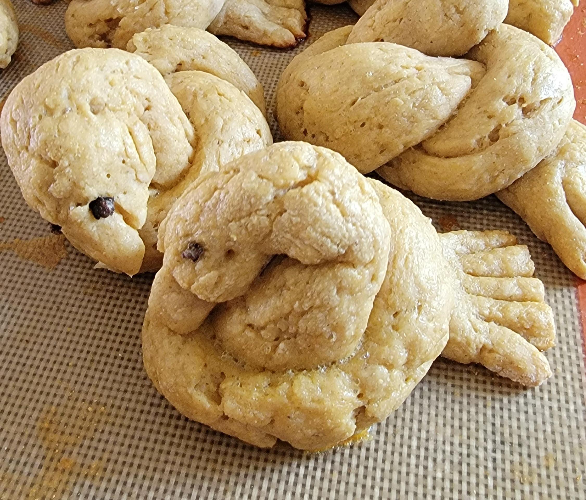 Gluten Free Honey Oat Challah Birds.