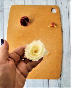 White Carrot Rose