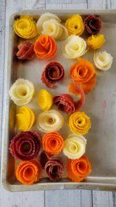 Rainbow Carrot Roses