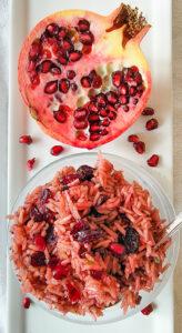 Pomegranate Pilaf