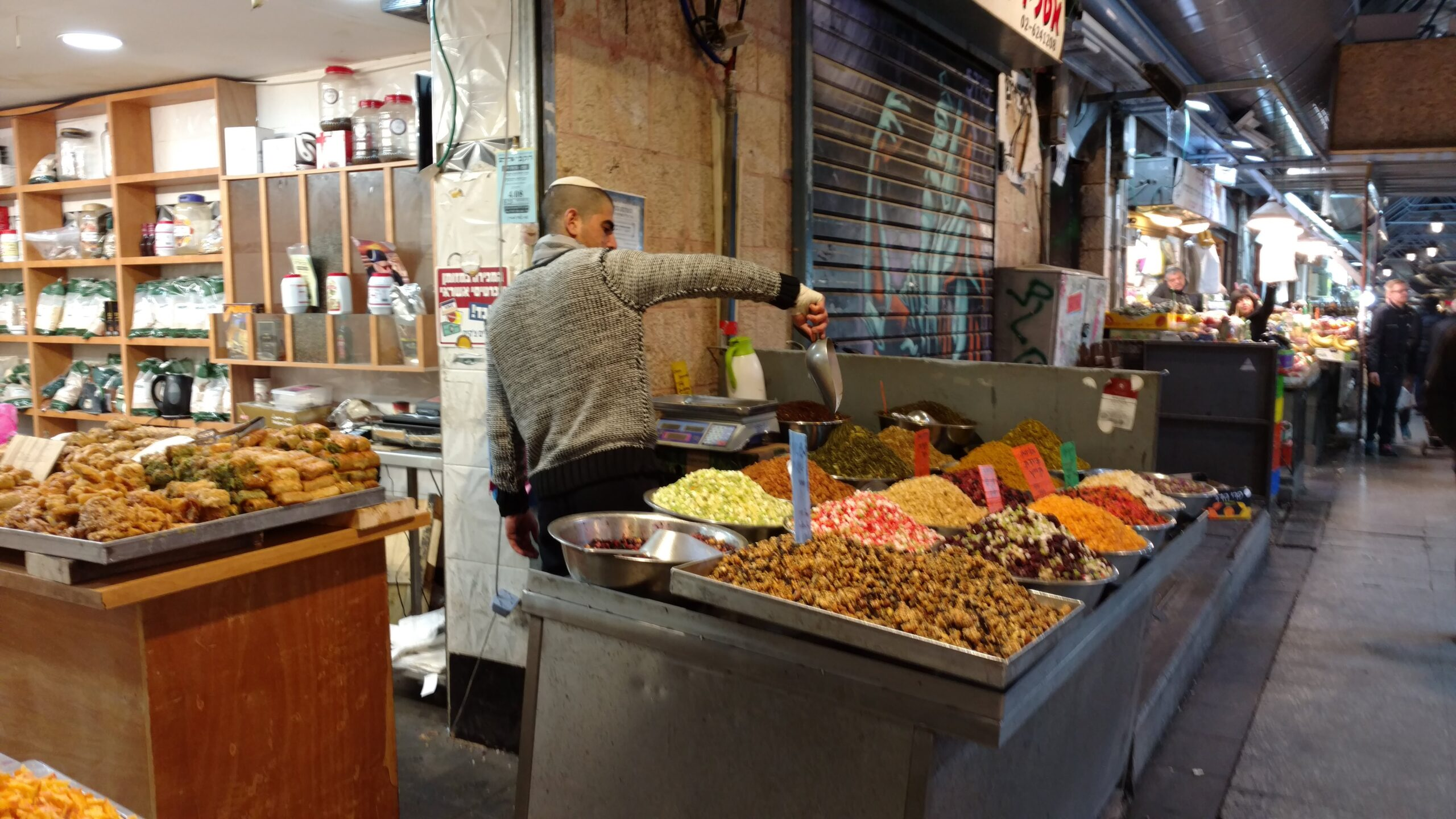 Spices and teas in Machaneh Yehuda