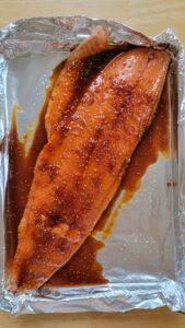 Pre-Cooked Teriyaki Salmon