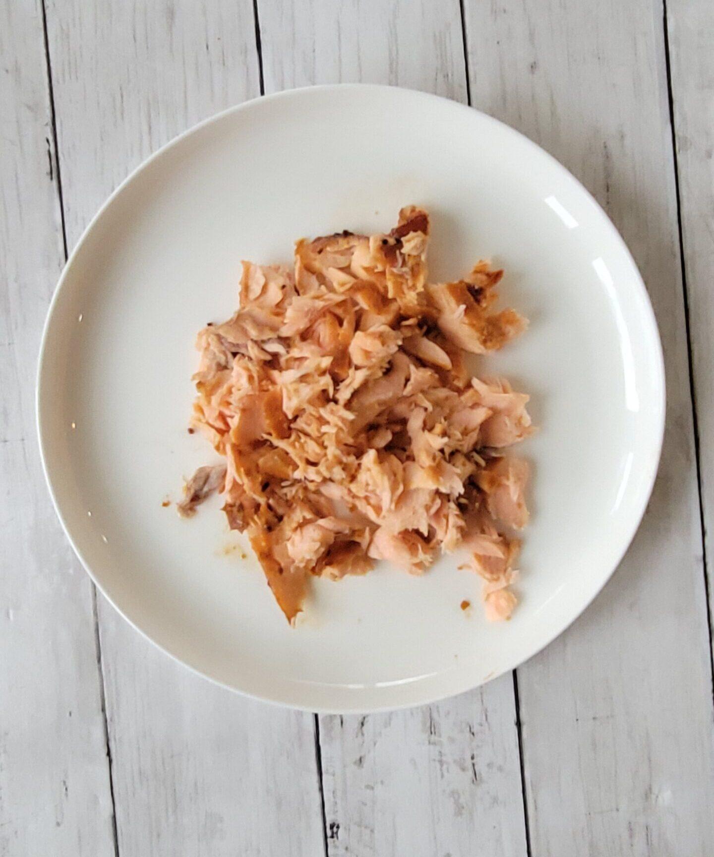 Shredded Teriyaki Salmon