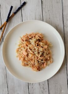 Teriyaki Salmon and Short Grain Brown Rice