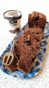 Chocolate Cookies and Cream Ice Cream Bread